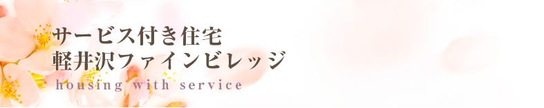サービス付き住宅軽井沢ファインビレッジ